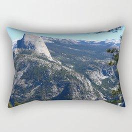 Imposing Glacier Point View Rectangular Pillow