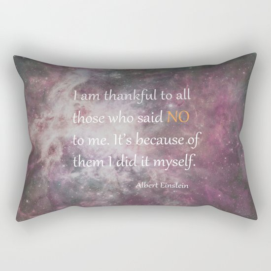 I AM THANKFUL (quote) Rectangular Pillow