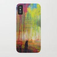 scott pilgrim iPhone & iPod Cases featuring Pilgrim by Phil Fung