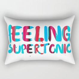 Feeling supertonic Rectangular Pillow