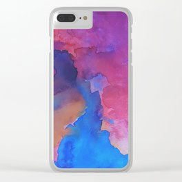 Close Your Eyes Clear iPhone Case