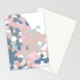 love the world to pieces pinks and grays Stationery Cards