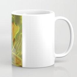 Green Lily Reflections Coffee Mug