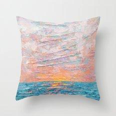 Summer's End Throw Pillow