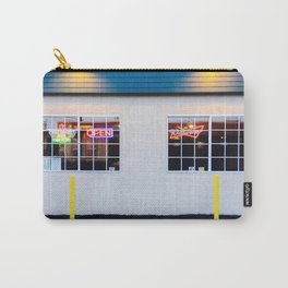 windows of the bar and restaurant in Los Angeles, USA Carry-All Pouch