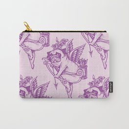 Stupid Pug Cupid Carry-All Pouch