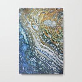 SEA SHELLS Metal Print
