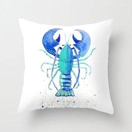 Neptune's Lobster Throw Pillow