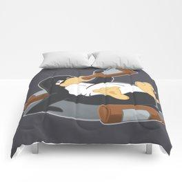 Boozing Penguin Comforters