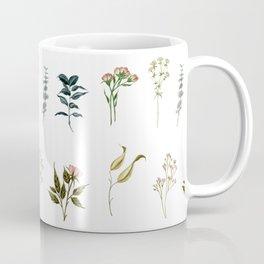 Delicate Floral Pieces Coffee Mug