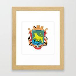 VLADIVOSTOK Framed Art Print