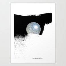 letterglobe... Art Print