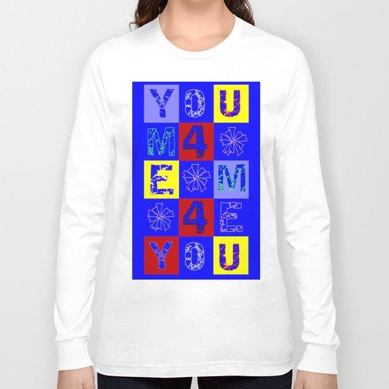 WORDSEARCH LOVE_U4MEME4U Long Sleeve T-shirt
