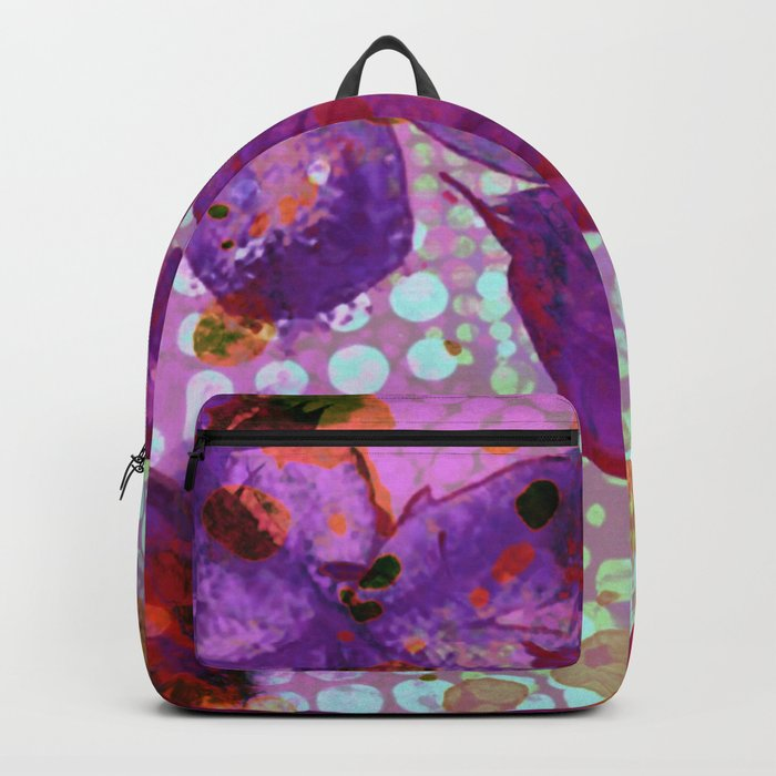 flowers and light Backpack