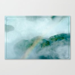 Rainbow in the Mist Canvas Print