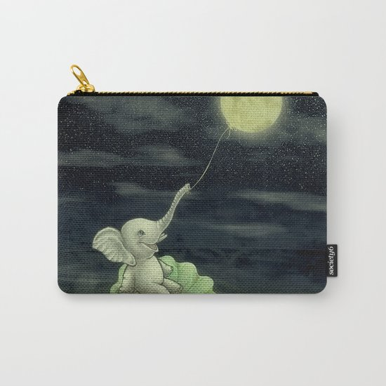 Give me a string, I will fly to the Moon! Carry-All Pouch
