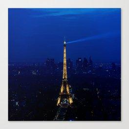 Paris-Tour Eiffel Canvas Print