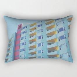 San Francisco Building Color Palate Rectangular Pillow