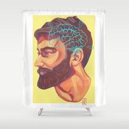 Beard Shower Curtain