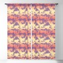 Cloudy Tropical Sunset Sky Pattern by wickedrefined
