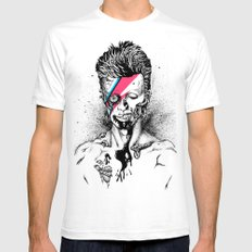 Zombowie White Mens Fitted Tee MEDIUM