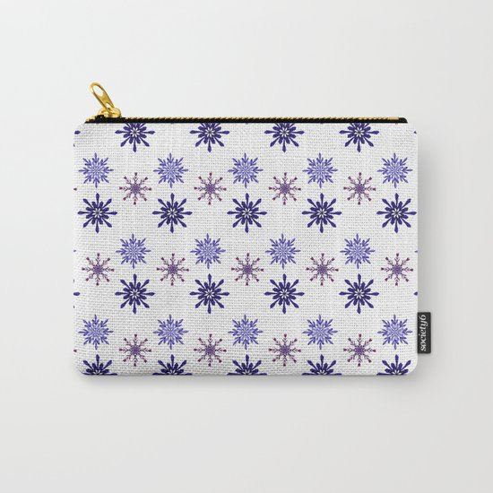Snowing Carry-All Pouch