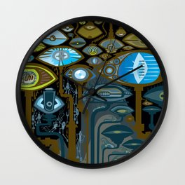 GARGANTELLA'S CHILDREN Wall Clock