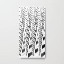 Synchronization ( V ) Metal Print