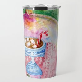Warm reflection Travel Mug