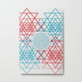 Geometrical 001  Metal Print
