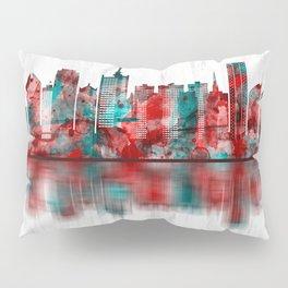 Lagos Nigeria Skyline Pillow Sham