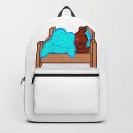 Sleeping Bear Clipart Backpack
