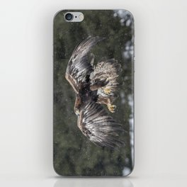 Eagle In The Snow. iPhone Skin