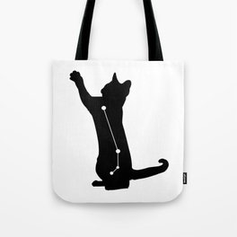 aries cat Tote Bag