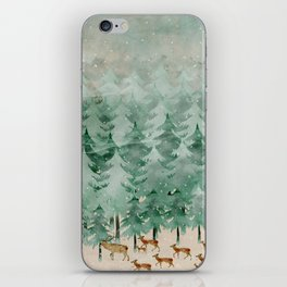 Into wilderness we go iPhone Skin