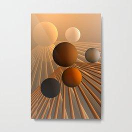 converging lines again -3- Metal Print