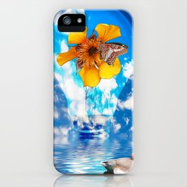Flowering Bulb iPhone Case