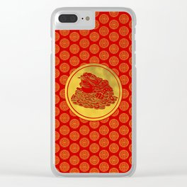 Three Legged Lucky Money Frog Feng-shui Clear iPhone Case