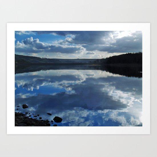 Swinsty Reflection Art Print
