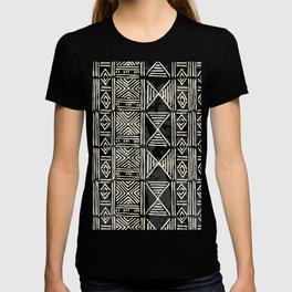 Tribal mud cloth pattern T-shirt
