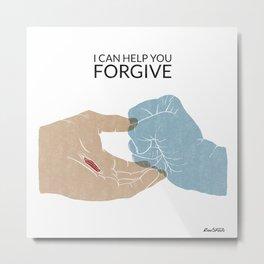 I Can Help You Forgive Metal Print