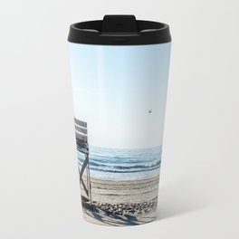 While the Lifeguards Away Travel Mug