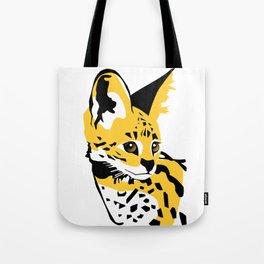 Serval 01 Tote Bag