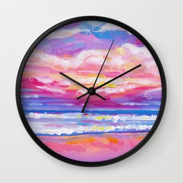 mornings in rodanthe Wall Clock
