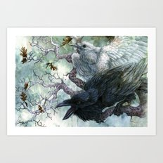 Thought and Memory Art Print