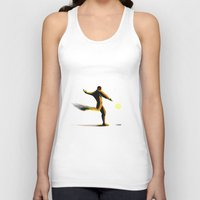 soccer Tank Tops featuring Soccer by Enzo Lo Re