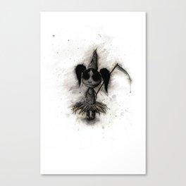 Cute Dead Girl Canvas Print