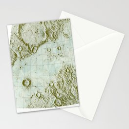 Lunar Chart Stationery Cards