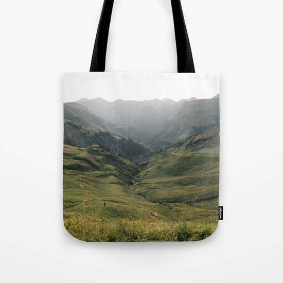 Little People - Landscape Photography Tote Bag