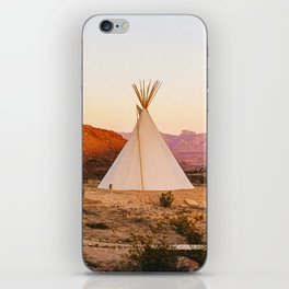 Tipi / Texas iPhone Skin